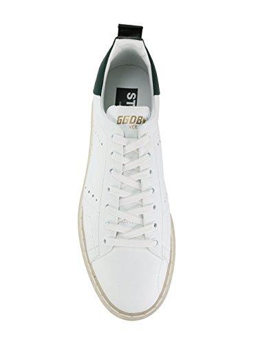 GOLDEN GOOSE Hombre G32MS631L3 Blanco Cuero Zapatillas