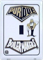 Purdue Light Switch Cover