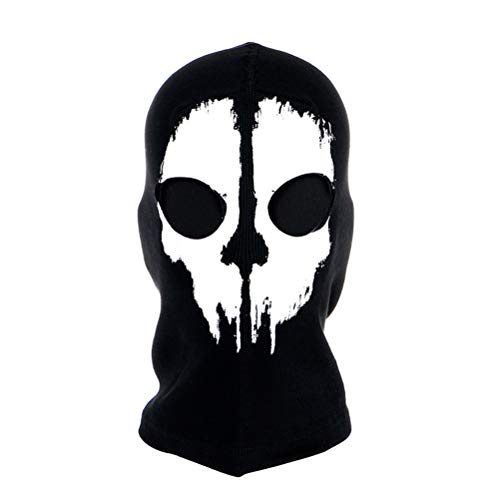 Skull Balaclava Winters Gothic Ghost Face Mask Bike Halloween Sports -