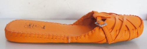 Diamante Edessä 5 Koko Solki Kirkkaan Cherag Oranssi vaatteet Luistaa Kenkä XwvHxYq