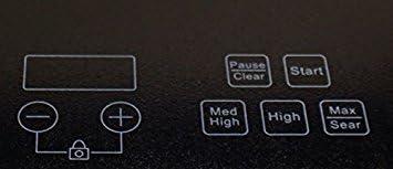 Amazon.com: BergHOFF 1800 Watt Portable visualización táctil ...