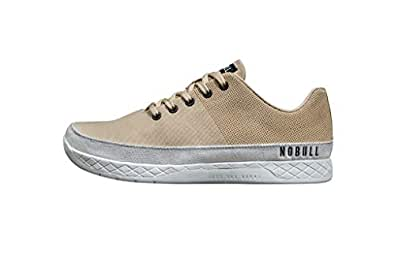 NOBULL Women's Canvas Trainer (6.5, Sand Canvas)