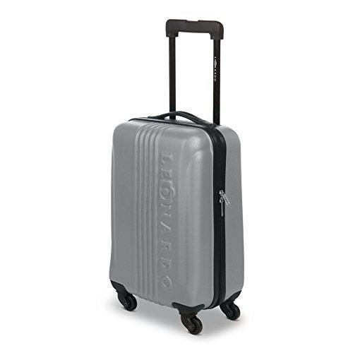 Leonardo Koffer Silber Reisegepäck