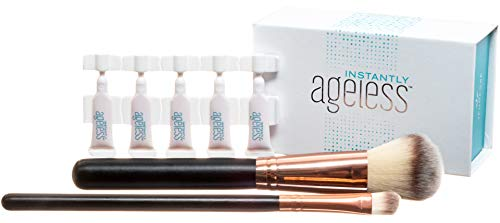 Jeunesse Instantly Ageless 25 Vials W/ 2 FREE Professional Makeup Brushes | Instantly Ageless 25 Vial Box Set with FREE Professional Brush Set by Instantly Ageless (Image #4)