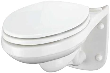 GERBER PLUMBING 21-970 Maxwell Wall Hung Back Outlet Siphon Jet Toilet Bowl