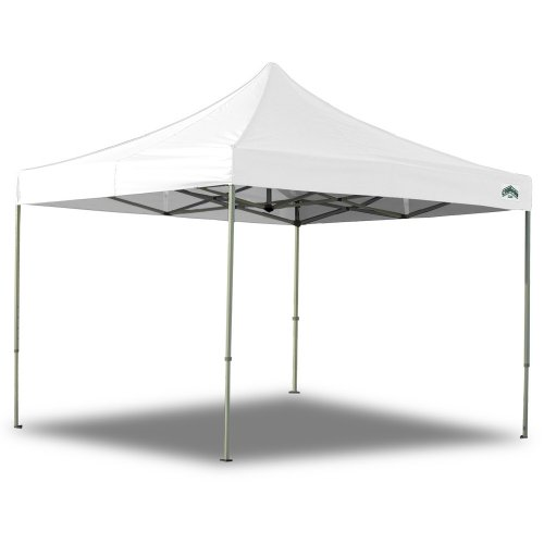 Amazon.com  Caravan Canopy 10 X 10 Foot Straight Leg Display Shade Commercial Canopy White  Outdoor Canopies  Garden u0026 Outdoor  sc 1 st  Amazon.com & Amazon.com : Caravan Canopy 10 X 10 Foot Straight Leg Display ...