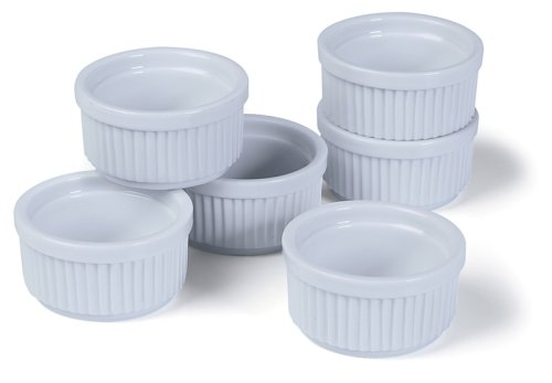 Prepworks from Progressive International CRR-6 Porcelain Stacking Ramekins, Set of 6