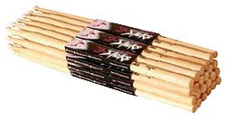 on-stage-maple-5b-nylon-tip-drumsticks-12-pairs