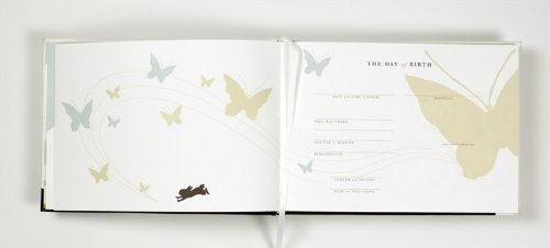 Binth Handmade Baby Book with Keepsake Box (Green) by Binth (Image #4)