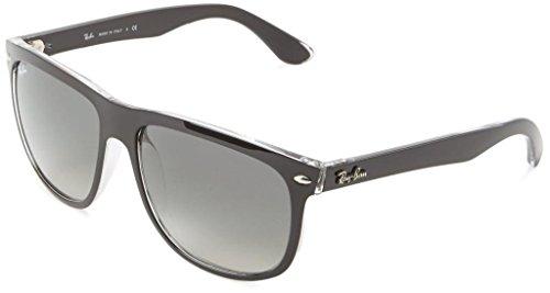Ray Ban RB4147 603971 60mm Black on Transparent/Azure Sunglasses Bundle-2 - 60mm Rayban