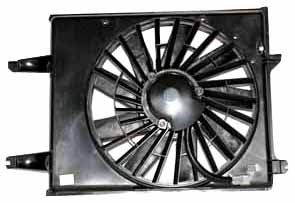 TYC 620350 Nissan/Mercury Replacement Radiator/Condenser Cooling Fan Assembly