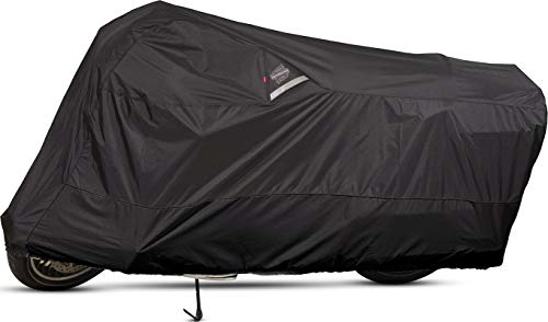 (Dowco Guardian 50004-02 WeatherAll Plus Indoor/Outdoor Waterproof Motorcycle Cover: Black, X-Large)