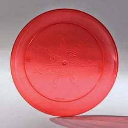 Disposable Plastic Dessert plates / Salad plates / Appetizer Plates Red 6\u0026quot; Holiday Plates Caterers & Amazon.com | Disposable Plastic Dessert plates / Salad plates ...