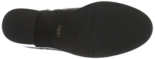 Buffalo London 414-2655 L Silk Leather, Zapatillas de Estar por Casa para Mujer Negro (Black851)