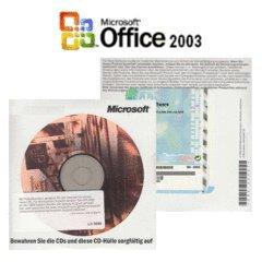 OEM MS Office Basic 2003 CD 1-Pack, inkl. Word, Excel, Outlook