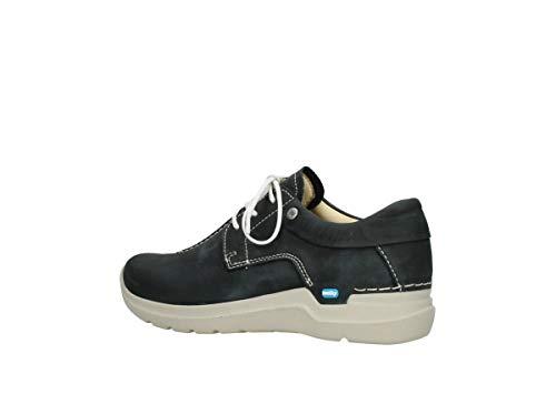 Lacets Comfort Nubuck Noir À 11070 Wasco Chaussures Wolky 4q0twZdZ
