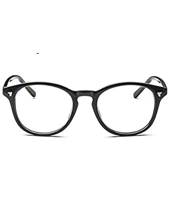 db24b8bcf6b Lunette Vintage - Lunettes sans correction Small Noir  Amazon.fr ...