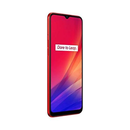 chollos oferta descuentos barato Realme C3 Smartphone de 6 5 LCD multi touch 3 GB RAM 64 GB ROM Procesador Helio G70 OctaCore Batería de 5000mAh Cámara Dual AI 12MP Dual Sim Color Blazing Red