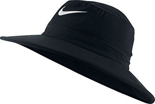 Nike Golf Sun Protect Bucket Hat (Black/White, L/XL)