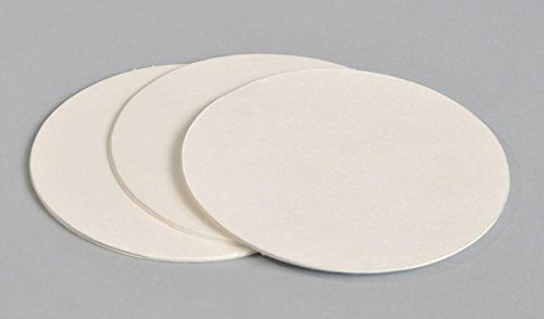 FILTER PAPER 9 cm - Pack of 25 Filtering Disc Paper for Coffee - Tinctura - Wine Alcofermbrew