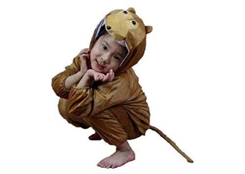 Kids Animal Costumes Pajamas Fancy Dress Outfit (M (for Kids 35.5