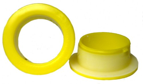 1 Pair of Yellow Color Plastic Hand Saver for Hand Stretch Wrap Film