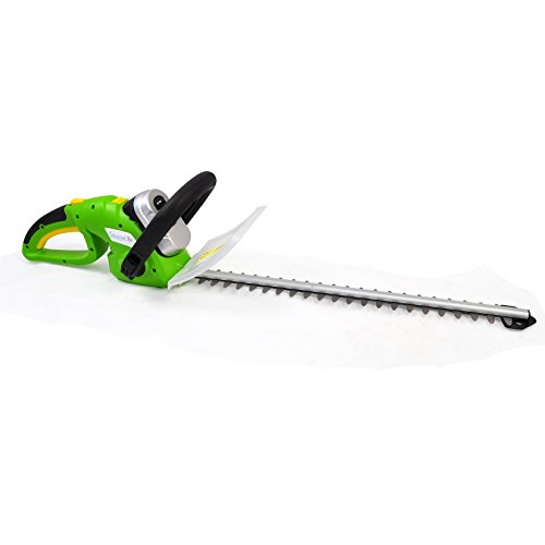 SereneLife Cordless Electric Hedge Trimmer – Yard Trimmer, Power Trimmer Bushes, Tree Bush, Shrub Trimmer, Perfect For Hedges and Shrubs, Rechargeable Battery, Charge Time 4 Hrs, 18V – PSLHTM36 For Sale