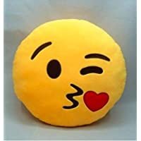Bubbles Soft Smiley Kiss Pillow for Boys & Girls/Gifts 32 cm
