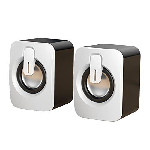FENGCHUANG Mini Computer Speakers Usb-Aangedreven Bedrade A2 Desktop Computer Speakers Hoge Magnetische Stereo Woofer…