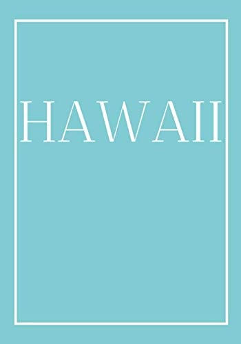 Hawaii: A decorative book for coffee tables, end tables, bookshelves and interior design styling | Stack coastline books to add decor to any room. ... or as a gift for interior design savvy people