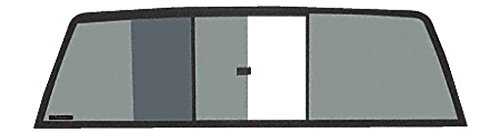 CRL Tri-Vent Three Panel Truck Slider with Solar Glass for 1995 - 2004 Toyota Tacoma
