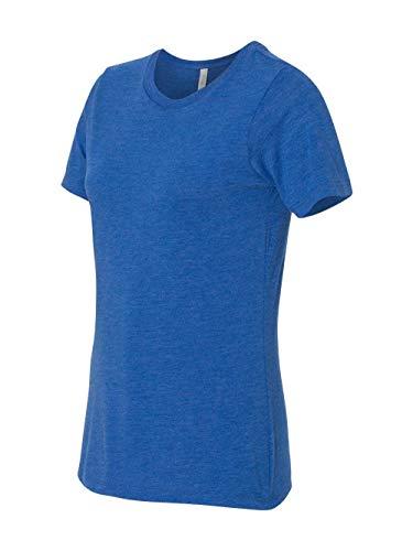 Bella + Canvas Missy's Relaxed Jersey Short-Sleeve T-Shirt S True Royal Tribd Bella Short Sleeve T-shirt