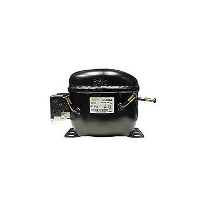 REPORSHOP - MOTOR COMPRESOR FRIGORIFICO ACC CUBIGEL GL80AA 1/4. R134 NEVERA REFRIGERADOR GAS