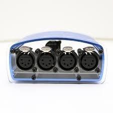 Enttec D-Split 70575 DMX Optical Isolator/Splitter DMX512 Distribution (5 Pin)