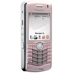 - Blackberry Pearl 8130 SmartPhone (Verizon) Pink