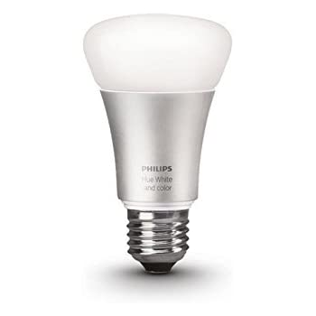 Philips Hue White and Color Ambiance 2nd Generation A19 60W Equivalent Dimmable LED Smart Bulb (Older Model, Compatible with Amazon Alexa, Apple HomeKit and Google Assistant)