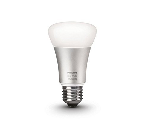 Philips Hue White and Color Ambiance 2nd Generation A19 60W Equivalent Dimmable LED Smart Bulb (Older Model  Works with Alexa  Apple HomeKit and Google Assistant)