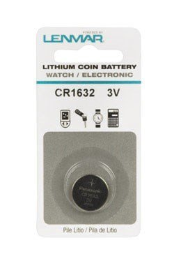 (Lenmar Lithium Coin Battery 3 V Lithium Ion Model No. Cr 1632 Carded)