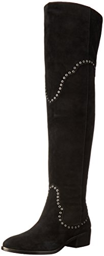 FRYE Women's Ray Grommet Otk Slouch Boot, Black, 8.5 M US (Womens Grommet)