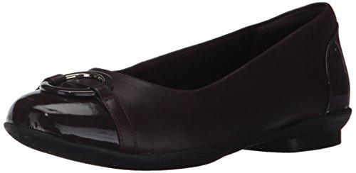 41 5 Braun Groesse Clarks Schuhe 9 EU Flache US Frauen IYvvtx8