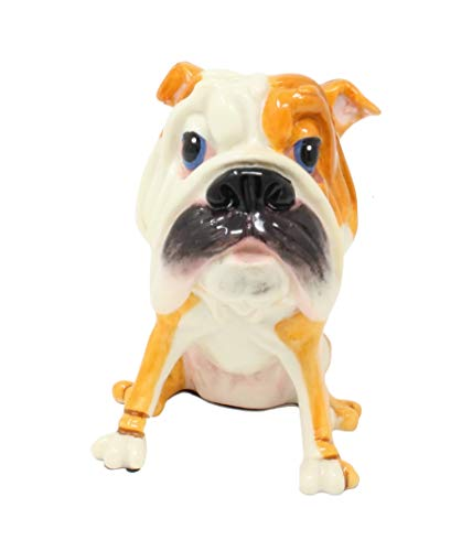 (Dog Breed Novelty Eyeglass Holder Stand | Perfect for Your Bedside or Desk | English Bulldog, 1)
