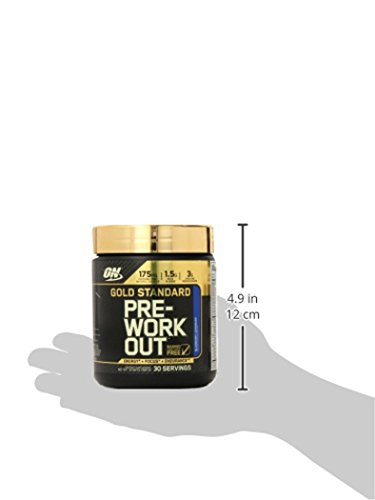 Optimum Nutrition Gold Standard Pre Workout with Creatine, Beta Alanine, and Caffeine for Energy