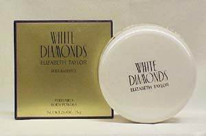 White Diamonds By Elizabeth Taylor for Women Body Powder