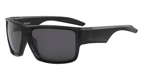 Dragon Lightweight Sunglasses - Sunglasses DRAGON DR DEADLOCK POLAR 001 SHINY BLACK WITH SMOKE POLARIZED LENS