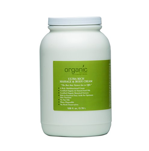 Ultra Rich Massage & Body Cream (formerly Dual Purpose Massage & Body Cream) - 128 oz ()