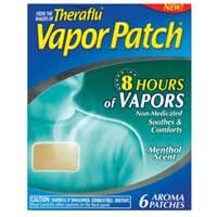 Theraflu Vapor Patch Menthol (One Box containing Six Packets)