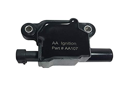 Ignition Coil Pack - Replaces GM# 12570616 ACDelco D510C - Fits Cadillac, Chevrolet, GMC, Pontiac 5.3L, 6.0L V8 - G8, Grand Prix, H3, Tahoe, Yukon, Silverado, Impala, Envoy, Trailblazer, Avalanche