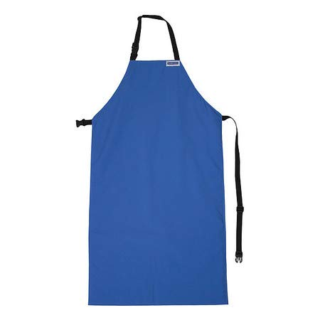 Cryogenic Apron, Blue, 48 In. L, 24 In. W
