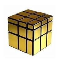 Dayan B00DZJF95Y0811 Shengshou Mirror Brain Teaser Speed Cube Puzzle Gold 60mm