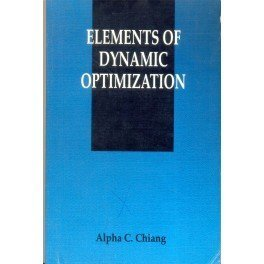 - Elements of Dynamic Optimization